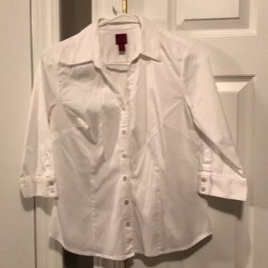 WHITE, 212 COLLECTION, Button-Down Shirt (PS)